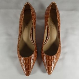 Talbots Brown Heel